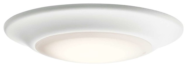 Kichler 43848whled27t Flush Mount Light, White.