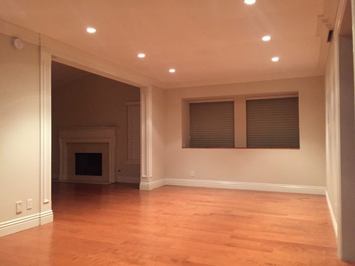 A Lot Of Pictures Online Show Beige Wall Color With This Hardwood But I Was Really Keen On Painting Them Gray Any Suggestions Thank You