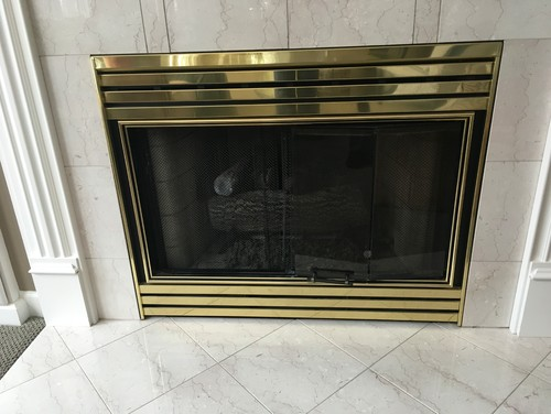 Replacing Fireplace Front Diy