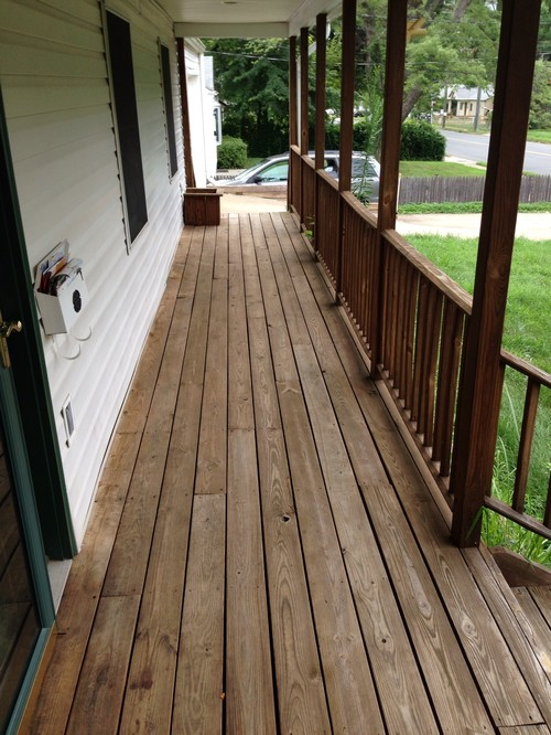 Need ideas for front porch paint or stain for Porch floor paint ideas