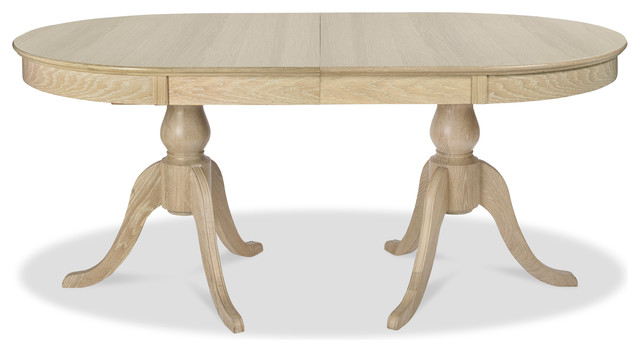Bourne American White Oak Extendable Dining Table 70