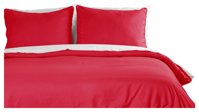 Microfiber Water And Stain Resistant Duvet Cover Mini Set