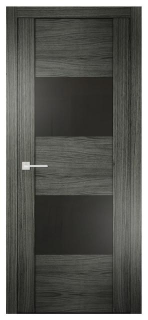 Sarto quadro 6015 interior door ashen oak lacobel glass for 18 inch interior glass door