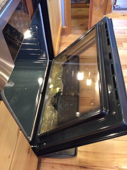 Bosch oven door glass shattered during self clean planetlyrics Image collections