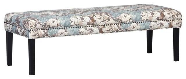 Primrose Sky Floral Bed Bench.