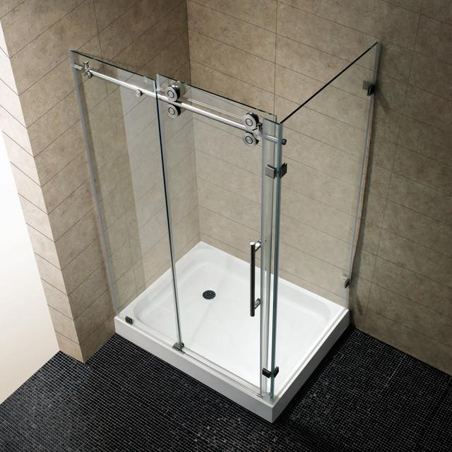 vg6051stcl48 36 x 48 frameless rectangular shower