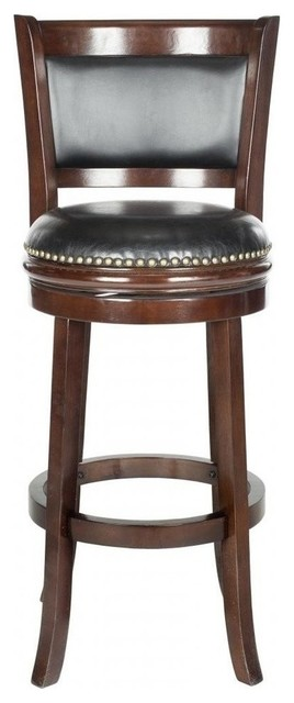 Brockway Swivel Stool Transitional Bar Stools And Counter Stools By Safavieh