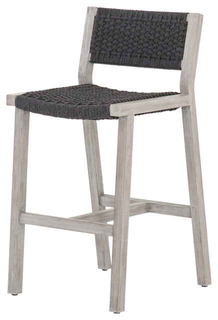 Fabulous Four Hands Delano Outdoor Bar Stool Beach Style Outdoor Ncnpc Chair Design For Home Ncnpcorg