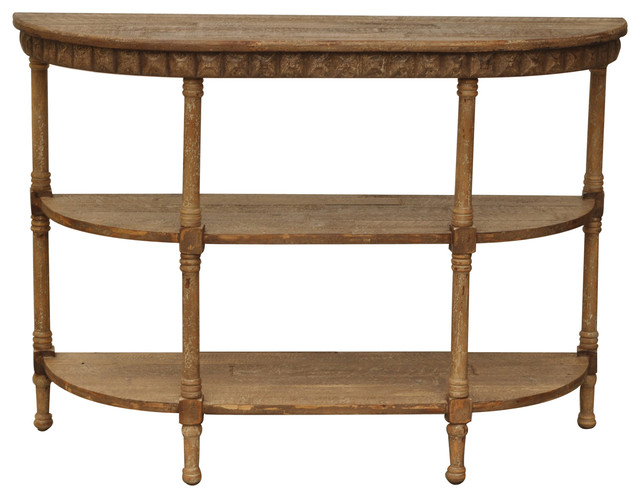 Cheyenne Demilune Console Table.