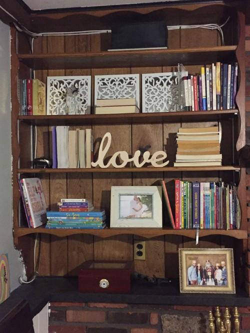 Bookshelf Decor built in bookshelf decor