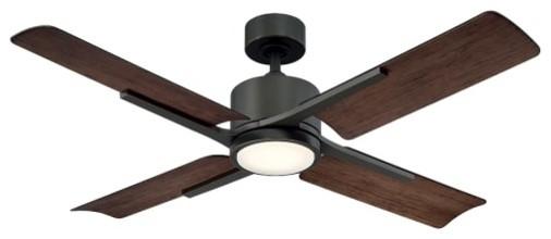 Modern Forms Cervantes 56&x27;&x27; 4 Blade Hanging Indoor/outdoor Smart Ceiling Fan.