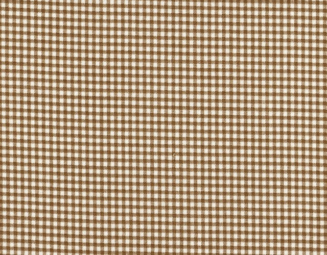 Round Tablecloth Round Suede Brown Gingham Check - Traditional ...