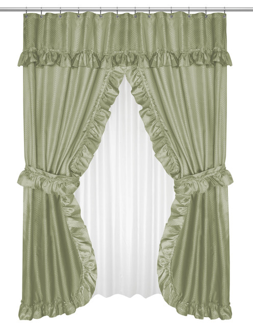 Double Window Curtain Ideas Non Toxic Chairs