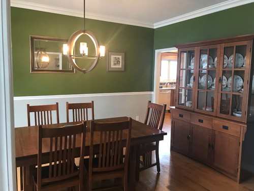 Dining Room Paint Chair Rail