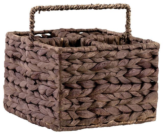 Saigon Decorative Basket in Brown