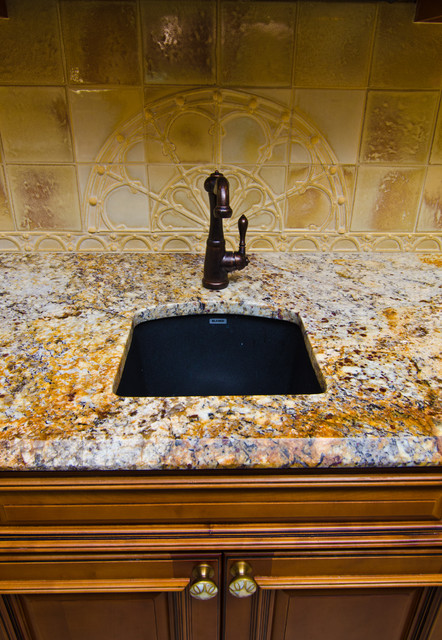 Bon Revelation Bordeaux Granite: Composite Bar Sink Undermounted Eclectic