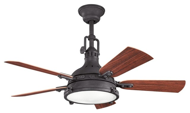 Shop Houzz 44 Quot Hatteras Bay Patio Ceiling Fan In