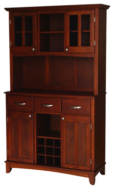 Buffet with Hutch - China Cabinets And Hutches - by Homesquare