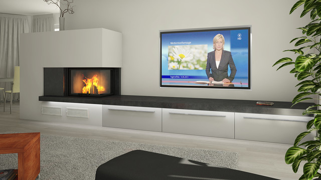 Heizkamin Modern tv bank modern ambiznes com