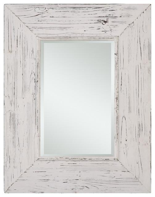 Cooper Classics Wilkes Mirror Distressed White