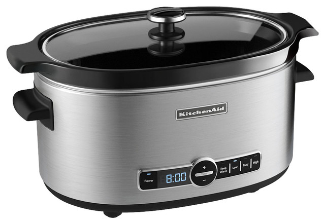 Slow Cooker, Stainless Steel.