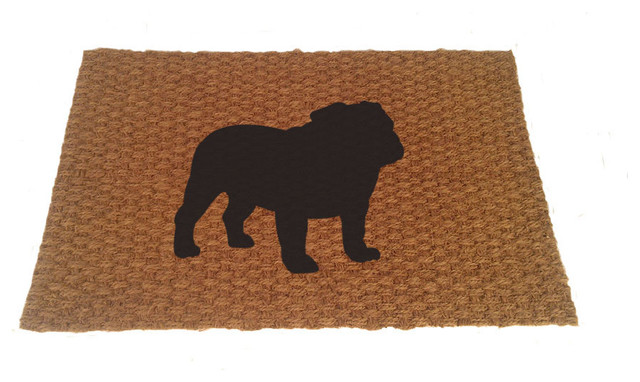English Bulldog Doormat, 19x31.