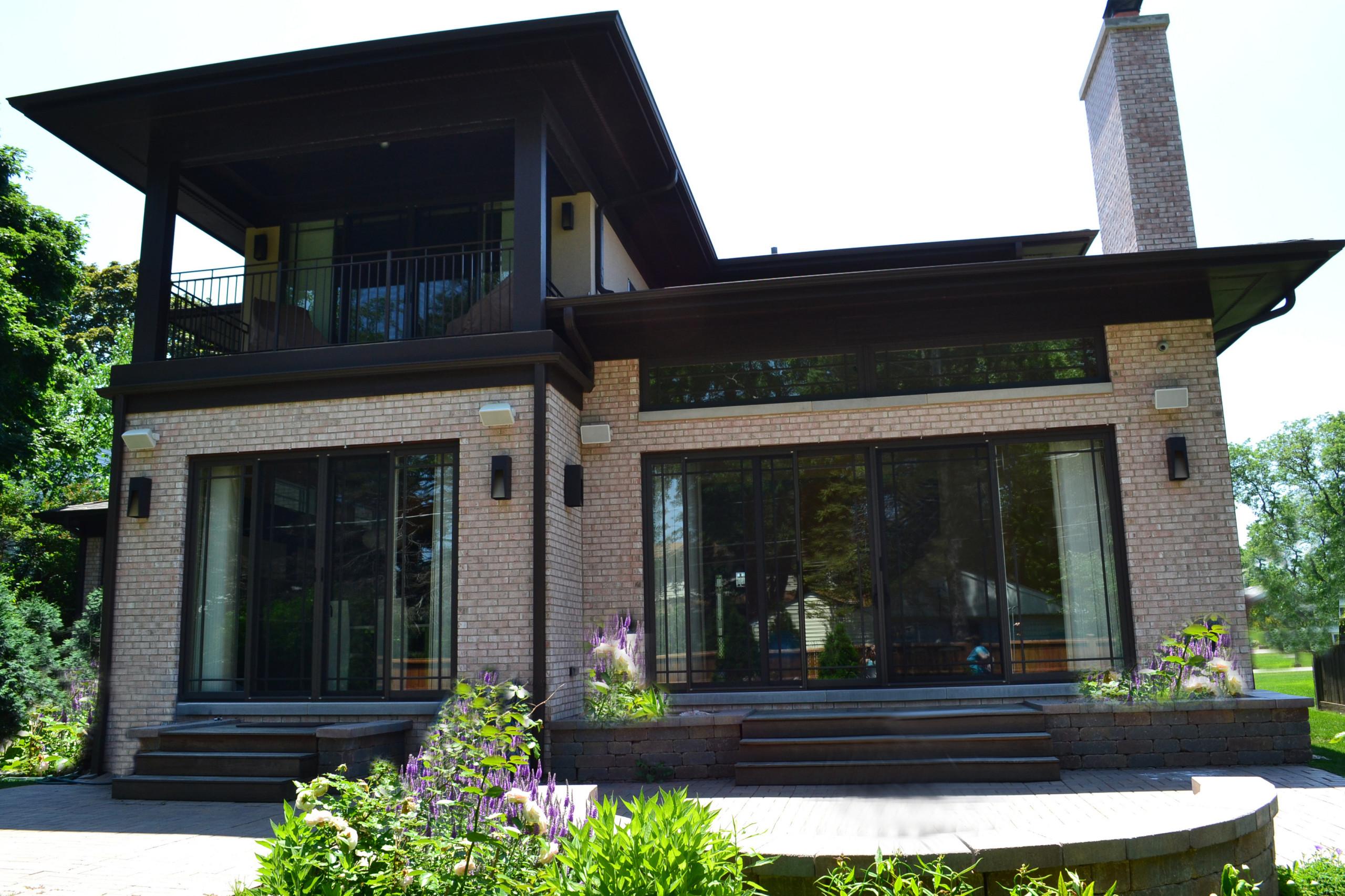 Prairy style residence
