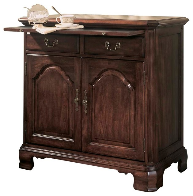 American Drew Cherry Grove Server In Antique Cherry  Traditional Buffets And Sideboards