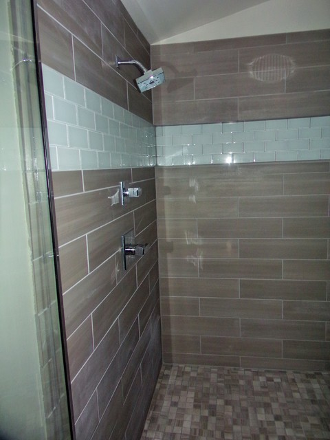 Master Bathroom Tile Design Installation Modern Bathroom Denver By Rogue Tile