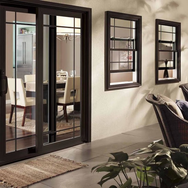 Perfect Black Patio Door Modern