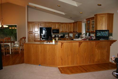 Help! Redoing my 90s kitchen!