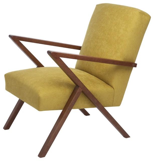 Retrostar Basic Armchair, Corn Yellow