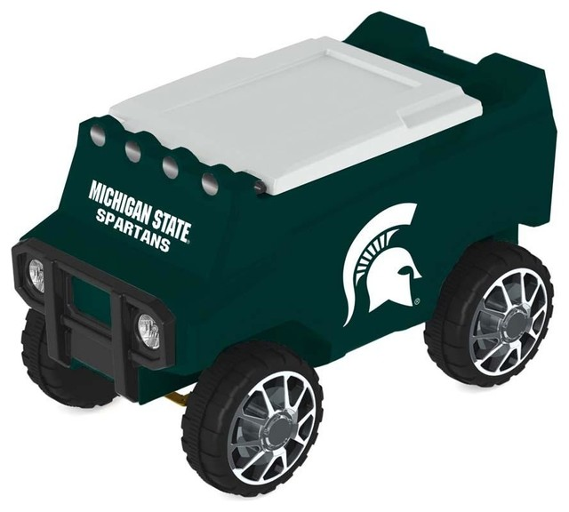 Michigan State Spartans Remote Control Cooler With Bluetooth Mp3 Speakers.