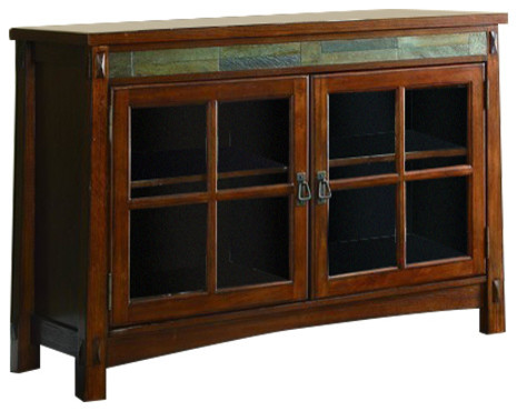 Falls 48 Tv Stand Slate Insert Entertainment Centers And Tv