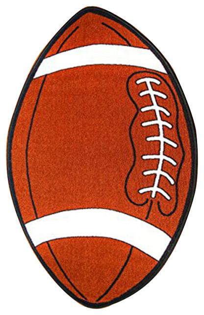 Kids Sports Football Small Shape Area