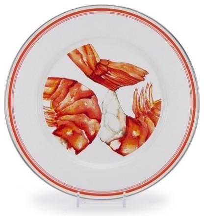 Shrimp Dinner Plate, Set of 4