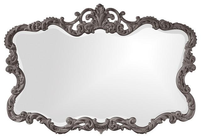 Howard Elliott Talida Mirror, Charcoal Gray.