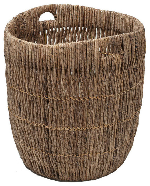 Large Indoor Planter Or Storage Basket In Sea Grass Tropical Indoor Pots And