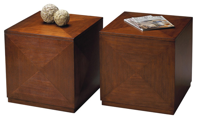 Butler Summerlin Chestnut Burl Bunching Cube by Butler Specialty Company