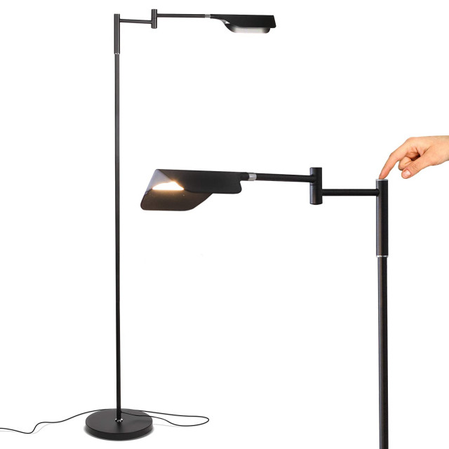 Adjustable Pharmacy Led Floor Lamp For, Floor Lamps For Reading Contemporary