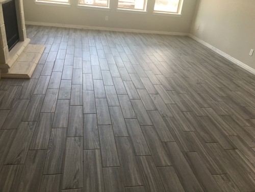 Porcelain wood look tile pattern Wood pattern tile