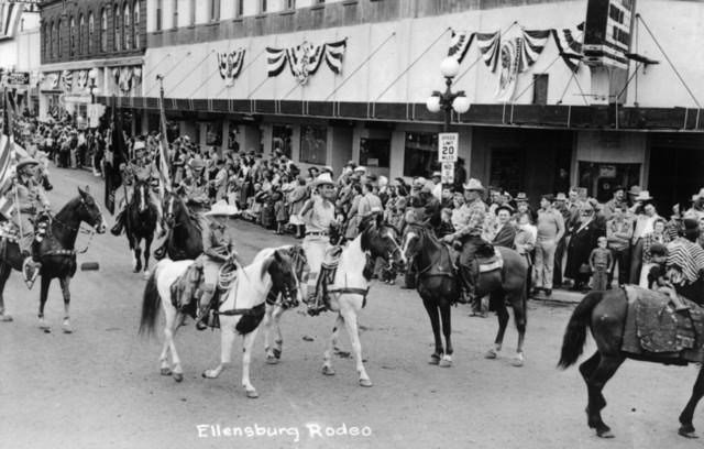 Ellensburg Washington Rough Going Ellensburg Rodeo Prints, Signs, Canvas, More