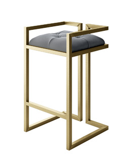 Shop Houzz Designer Modern Home Peter Modern Stool Bar