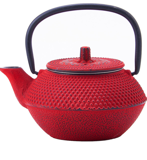Cast iron tokyo teapot 11 oz asian teapots by old dutch - Elephant cast iron teapot ...