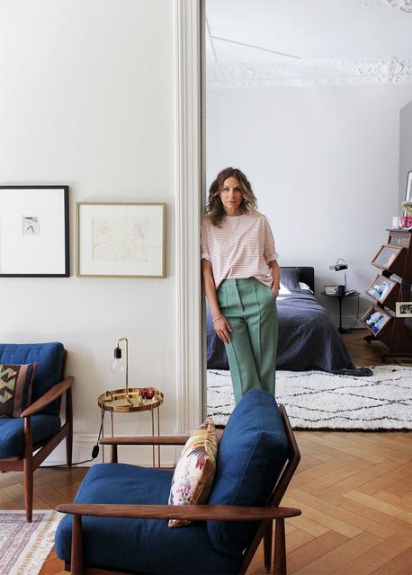 Sue Giers Eklektisch Wohnzimmer