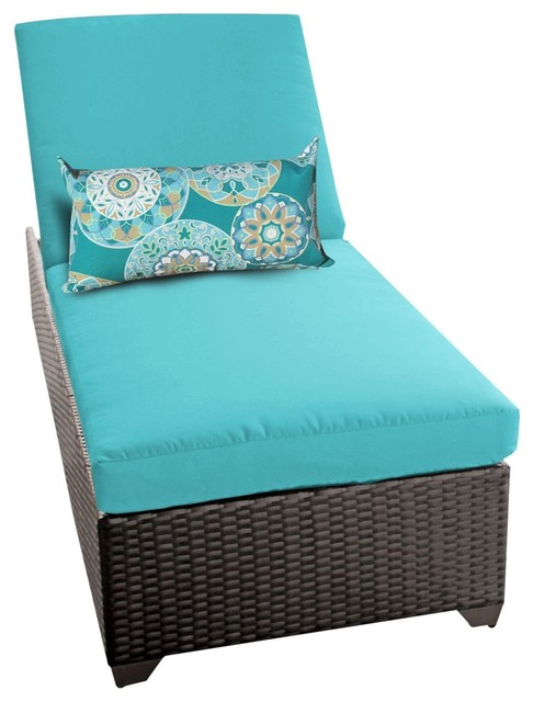 Patio Furniture Chaise Cushions: Classic Chaise Outdoor Wicker Patio Furniture