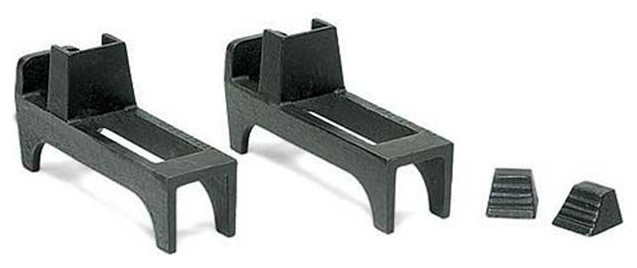 Minuteman Fireback Feet - Cast Iron - Black.