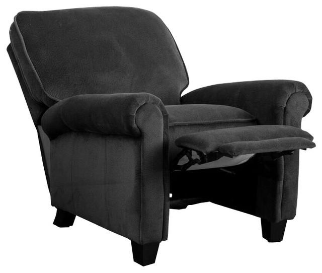 Denise Austin Home Kent Fabric Recliner Club Chair