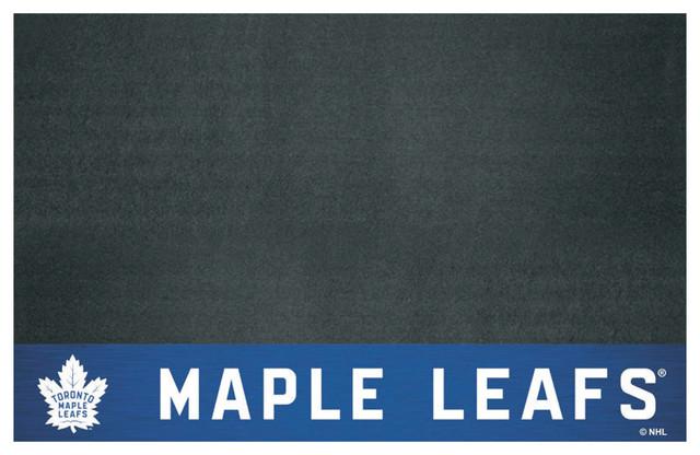 "Nhl Toronto Maple Leafs Grill Mat 26""x42""."