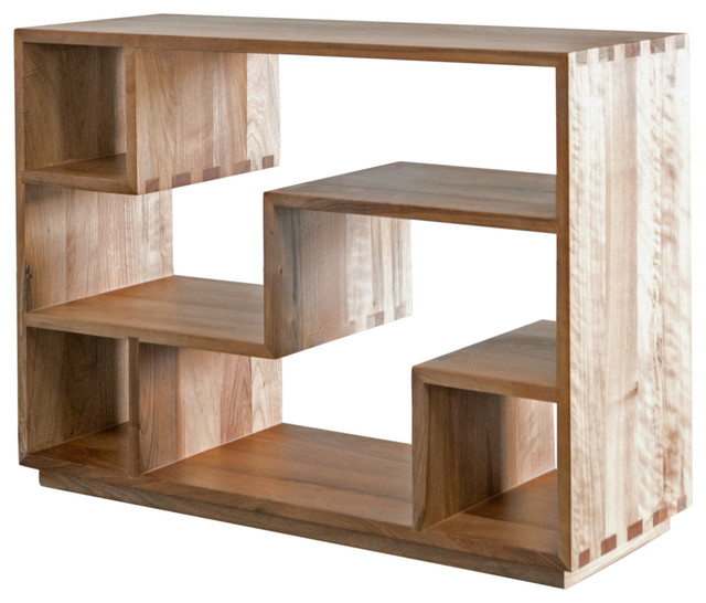 Zen Bookcase, Natural Walnut